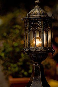 bluepueblo: Lantern, The Enchanted Wood photo via liezl Lantern Lamp, Candle Lanterns, Candles, Antique Lanterns, Lamp Light, Light Up, Witch Cottage, Deco Luminaire, Enchanted Wood