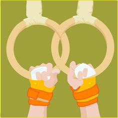 Free Vector Graphic: Roman Rings, Rings, Sports - Free Image on Pixabay - 25773