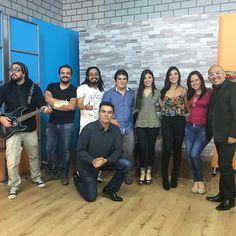 Con los amigos de @despiertagt de @canal33gt #juancalavera