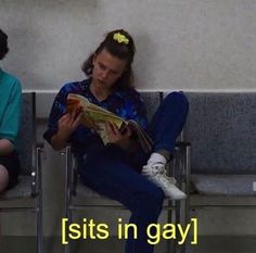 Lgbt Quotes, Lgbt Memes, Lesbian Humor, Gay Aesthetic, Lgbt Love, The Villain, Stupid Funny Memes, Reaction Pictures, Stranger Things