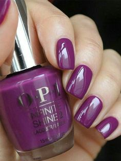 Opi Nail Colors, Purple Nail Polish, Opi Nail Polish, Opi Nails, Purple Nails, Fancy Nails, Cute Nails, Pretty Nails, Fabulous Nails