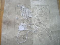 Tambour Embroidery, Beaded Embroidery, Embroidery Stitches, Embroidery Patterns, Machine Embroidery, Knitting Patterns, Needle Lace, Bobbin Lace, Point Lace