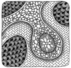 Tangle 022 by perfectly4med, via Flickr