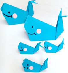 Paper folding crafts, particularly origami, may seem like a daunting task for some kids and parents alike. With this Easy Origami Whale for Beginners video tutorial, it's that much easier to follow than those sometimes confusing step by step.