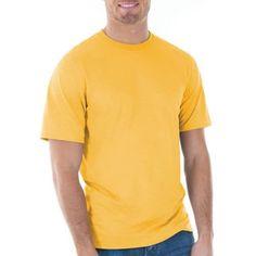 Gildan Mens Classic Short Sleeve T-Shirt, Men's, Size: XL, Gold