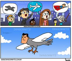 """It's a Birdplanesuperman"""