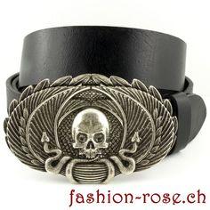 Skul Gürtelschnalle passt perfekt zu Jeans speziell für Herren Cuff Bracelets, Jeans, Jewelry, Fashion, Silver Jewellery, Metal, Moda, Jewlery, Jewerly