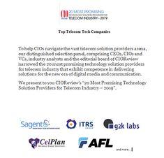 Top Telecom Tech Companies - Technology Blog 1 - Medium John Stones, Editorial Board, Fiber Optic, Tech Companies, Technology, Medium, Blog, Tech, Tecnologia