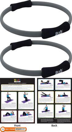 Body Sport Pilates Ring with Foam Padded Grips, 14 Diameter Pilates Ring With Foam Padded Grips, Latex Free. High-quality product that provides ample support and stabilization. Useful for strength training and other health and wellness activitie. Pilates Ring Exercises, Pilates Poses, Pilates Workout Routine, Pilates Barre, Pilates Reformer, Workouts, Wellness Fitness, Physical Fitness, Magic Circle Pilates
