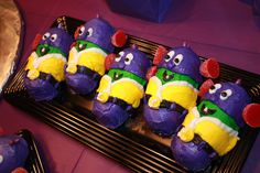 larry boy cupcakes