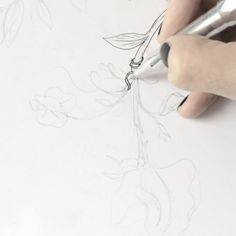 Drawing this wondeful tattoo for @v.carpenter.... Head on over to her site to see what the finished ink looks like. It turned out ever so pretty, that much I can say... #tattoo #tattoodesign #flowerdrawing #illustration #flowerillustration #botanicalillustration #botanicaldrawing #learntodraw #zeichnenlernen #illustrationvideo #drawingvideo #zeichnenvideo #sketching #kaweco Woodworking Guide, Custom Woodworking, Woodworking Projects Plans, Teds Woodworking, Botanical Drawings, Botanical Illustration, Detailed Drawings, Learn To Draw, Carpenter