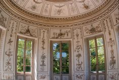 The Belvedere, a small classical pavilion requested by the Louis XVI's 19 year old Queen, Marie Antoinette. It was used as a teahouse.