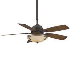 Fanimation HF6600 3 Light 54-in Hubbardton Forge Standard Presidio Tryne Ceiling Fan | ATG Stores