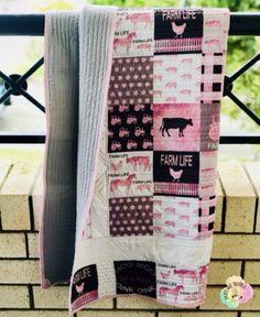 Farm Life Heritage Quilt Cot Quilt, Quilts, Cot Blankets, Keepsake Quilting, Mini Me, Farm Life, Your Child, Black White, Warm