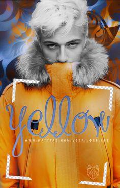 Yellow | Wattpad Cover by LoeBiebs