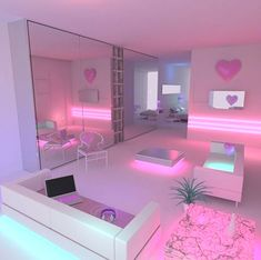 Tired of it the same 20 approximate DIY ideas for the teenage room decoration Zimmer deko ideen Cute Bedroom Ideas, Girl Bedroom Designs, Room Ideas Bedroom, Awesome Bedrooms, Cool Rooms, Neon Bedroom, Barbie Bedroom, Bedroom Kids, Girs Bedroom Ideas