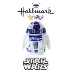 Hallmark ITTY BITTYS ●● Star Wars  R2-D2 Artoo ●● Itty Bitty Star Wars Droid!