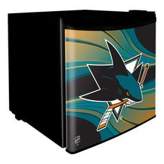 Use this Exclusive coupon code: PINFIVE to receive an additional 5% off the San Jose Sharks NHL Dorm Room Refrigerator at SportsFansPlus.com