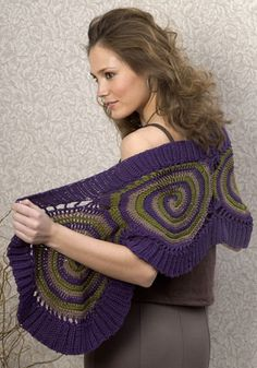 Crochet Wrap ~ Free Pattern