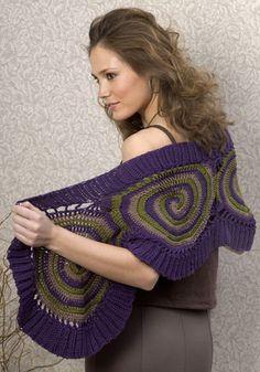 wow, crochet wrap - Free pattern -