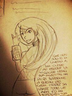 """Eri-Chan: Sketch e breve intro di """"Kill me honey!"""""""