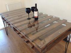 Palete Mesa - Passo a Passo Pallet Table - DIY