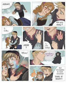 SCORCHED (Frozen graphic novel) Page 3 by RemainUndefined on DeviantArt