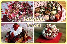 Valentine's Day Treats -- Dessert, Snack, and Gift Ideas