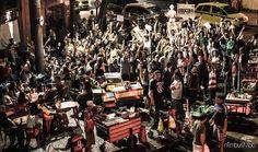 O evento contará com cerca de 100 durante as oito horas de festa. O sarau contará com quatro palcos, cinco coletivos produtores, 10 homenageados e um circuito de comida de rua