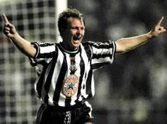 John Beresford (defender) 1992-98. League apps 179. Gls 3 Newcastle United Football, St James' Park, Saint James, Black N White, Legends, Army, Sports, Mens Tops, Santiago