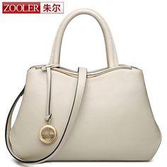 New shoulder bag! ZOOLER women leather bag top handle cowhide handbags famous brand simple elegant bag 2016 bolsa feminina #2662