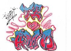 Graffitis De Amor Buscar Con Google Graffitis De Amor Familia Feliz Dibujo Grafiti