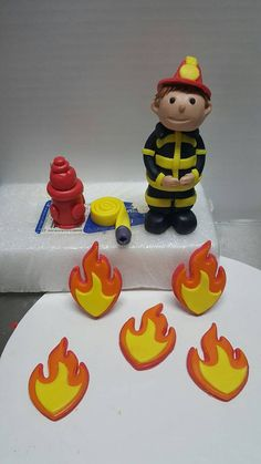 Your place to buy and sell all things handmade Bow Cakes, Cupcake Cakes, Fire Cake, Fire Fighter Cake, Camera Cakes, Fondant Bow, Happy Birthday Mom, Different Hair Colors, Cake Tutorial