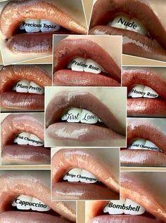 Nude shades of LipSense