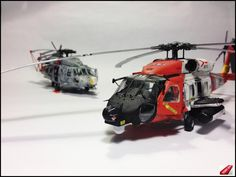 Sikorsky HH-60 Jayhawk, 1/48 scale. By Daz. US Cost Guard. MModels #helicopter #chopper #scale_model