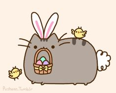 Pusheen Easter