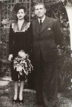 Dr. Manuel Silveira Barrios y su esposa Maria Luisa Blanco de Silveira. Mi tío