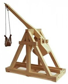 how to build a trebuchet catapult step by step