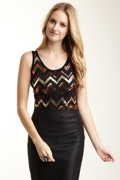 Sophisticated sequins lead the way from fall to winter - $29 at @HauteLook