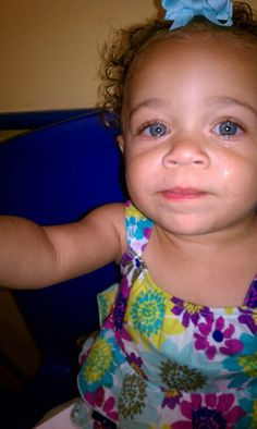 Ki'ana Nevaeh – Black and White Black With Blue Eyes, Black And White, Cute Mixed Babies, Cute Babies, Pretty Baby, Pretty Eyes, Cute Little Girls, Cute Kids, Blue Eye Facts