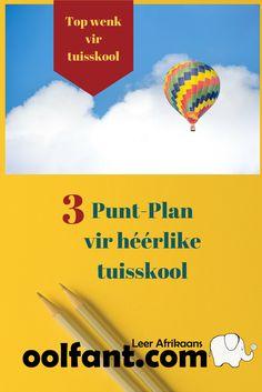 wenke vir tuisskool, leerplan in Afrikaans, Afrikaanse taalleer, Afrikaans, How To Plan, Education, Kids, Homeschooling, Do Your Thing, Young Children, Boys, Children