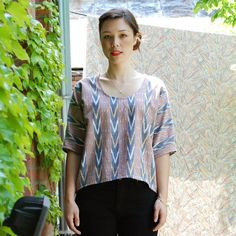 wiksten dolman ikat top by wikstenmade, via Flickr