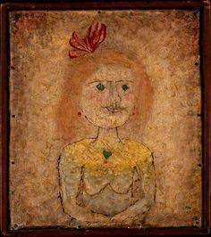 Paul #Klee, Small Portrait of a Girl in Yellow, 1925, Metropolitan Museum of Art, New York