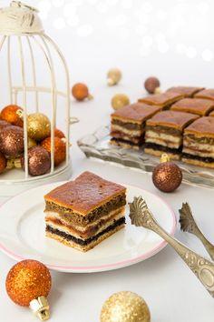 Christmas traditional cake from Slovakia, baking