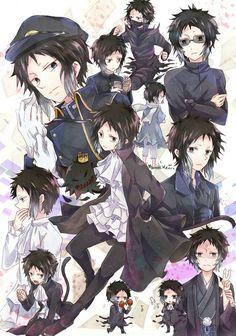 That's a a lot of Akutagawa Stray Dogs Anime, Bongou Stray Dogs, Fan Anime, Anime Guys, Manga Art, Anime Art, Animal Jam, Kawaii Anime, Chibi