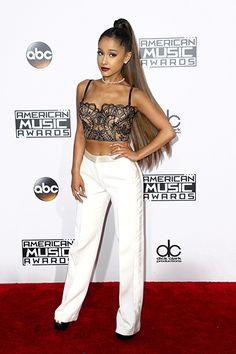 AMAs 2016 Red Carpet Arrivals: See the Photos | Ariana Grande | EW.com