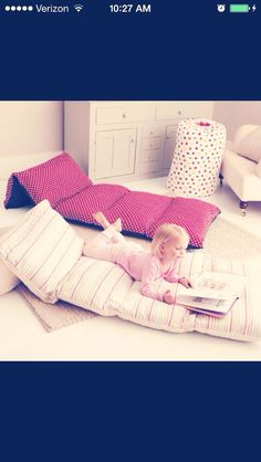 Sew Pillow Cases Together, Fill With Pillows, Instant Awesome Movie Room!