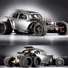 My Jeep Addiction : Photo - automobil Rat Rods, Vw Rat Rod, Weird Cars, Cool Cars, Hot Rod Cars, Vw Beach, Beach Gear, Auto Volkswagen, Jeep