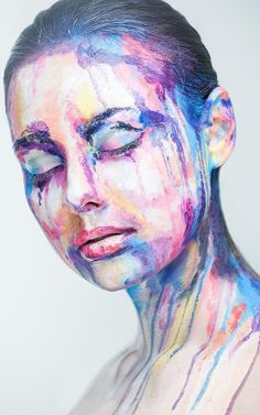 Others are living in a watercolor dream. | 14 Makeup Transformations That Prove Makeup's True Power