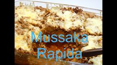 Mussaka varianta rapida. Reteta lui Catalin. Banana Bread, Cereal, Chicken, Meat, Breakfast, Desserts, Food, Youtube, Red Peppers